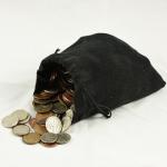 五円玉で作る亀のお守り
